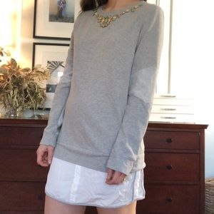 Anthropologie Dresses - Anthropologie Sweatshirt Dress